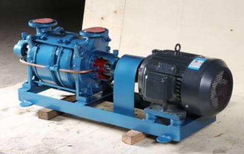 水环真空泵排油过程