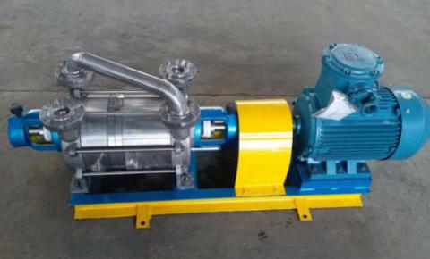 水环式真空泵防止腐蚀的方法